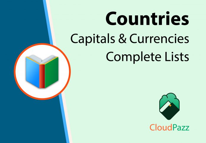 important country capital and currency