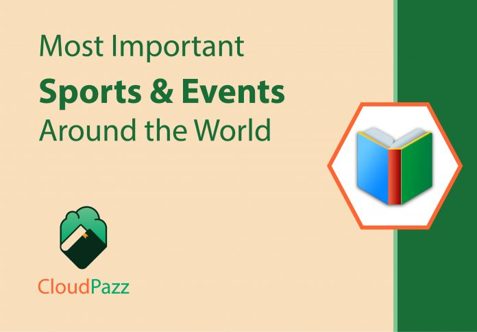 winners of important sporting events around the world