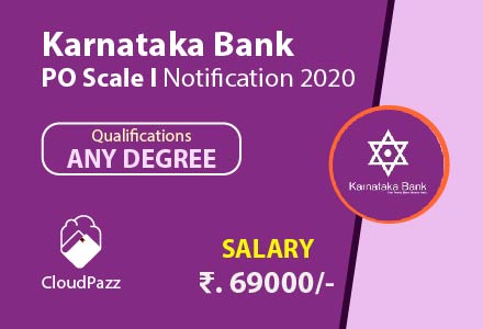 karnataka bank po notification 2020